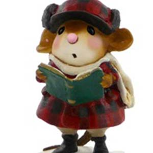 M-421 Brother Caroler &#8211; Wee Forest Folk Collectible