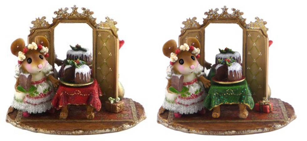 M-423 The Elegant Hostess &#8211; Wee Forest Folk Christmas