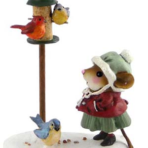 M-429 Feathered Friends - Wee Forest Folk Collectible