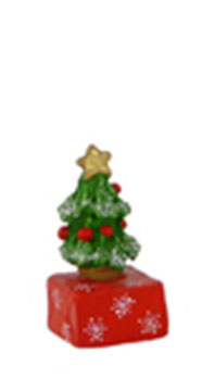 A-13 Small Gift with Tree – RETIRED