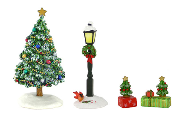 A-13 Small Gift with Tree – LIMITED