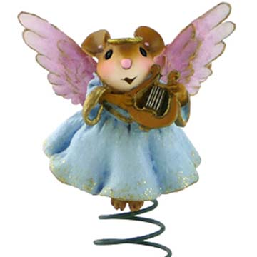 CO-10 Tree Top Angel Christmas Ornament – Wee Forest Folk