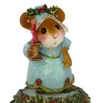 M-405a A Candlelight Welcome &#8211; Wee Forest Folk Collectible