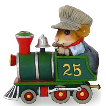 M-453 Wonderland Express Engine - Wee Forest Folk Collectible