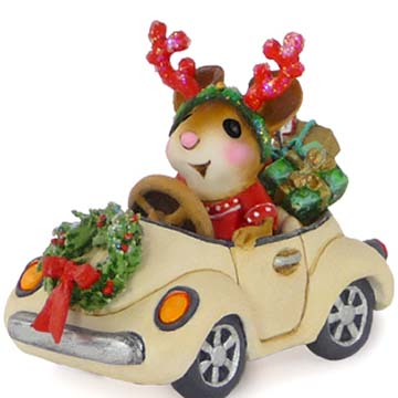 M-454a Honk For Christmas! – A Car For All Seasons – Wee Forest Folk Collectible