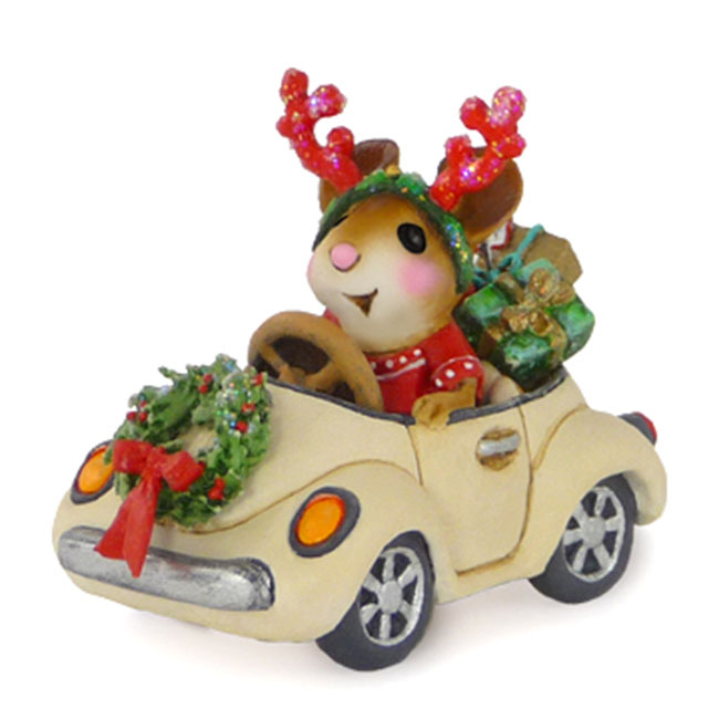 M-454a Honk For Christmas! &#8211; A Car For All Seasons &#8211; Wee Forest Folk Collectible