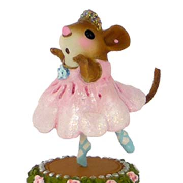 M-455 Petite Ballerina &#8211; Wee Forest Folk Collectible