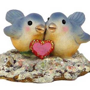 A-15 Lovebirds – Wee Forest Folk