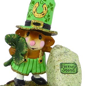 M-319a Lucky Blarney! - LIMITED Wee Forest Folk - St. Patrick's Day