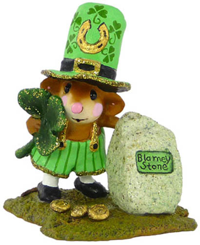 M-319a Lucky Blarney! &#8211; LIMITED Wee Forest Folk &#8211; St. Patrick&#8217;s Day