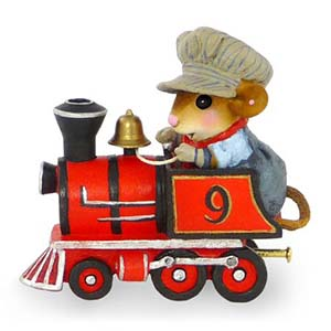 M-453 Wonderland Express Engine &#8211; Wee Forest Folk Collectible