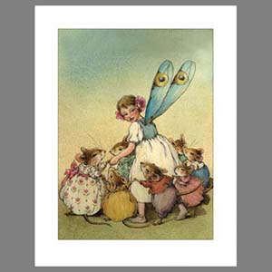Note 2: Fairy (set of 6 note cards)