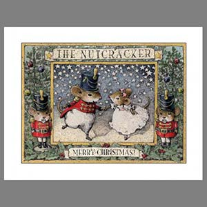 Note 9s: The Nutcracker (set of 12 note cards)