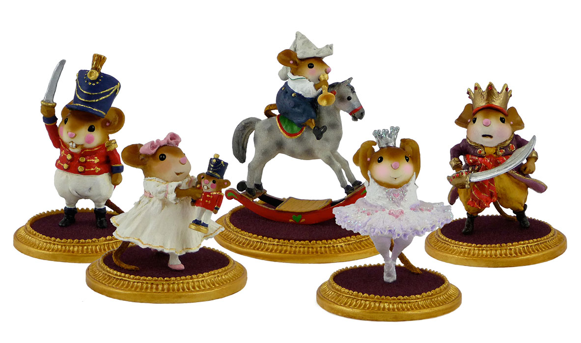 Nutcracker Set of 5 LIMITED – NC-1, NC-2, NC-3, NC-4, NC-5