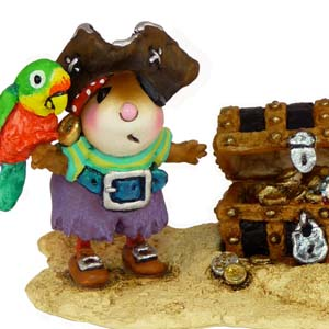 M-398a Pirate's Treasure – Wee Forest Folk Collectible