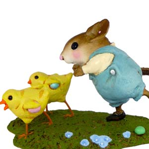 M-387 Egg Scramble &#8211; RETIRED Wee Forest Folk Collectible
