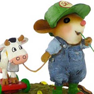 M-445 Timothy & Belle – Wee Forest Folk Collectible
