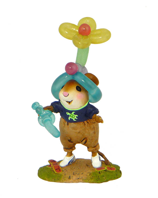 M-469 Balloon Beanie &#8211; Fun At The Fair Wee Forest Folk Collectible