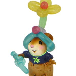 M-469 Balloon Beanie - Fun At The Fair Wee Forest Folk Collectible