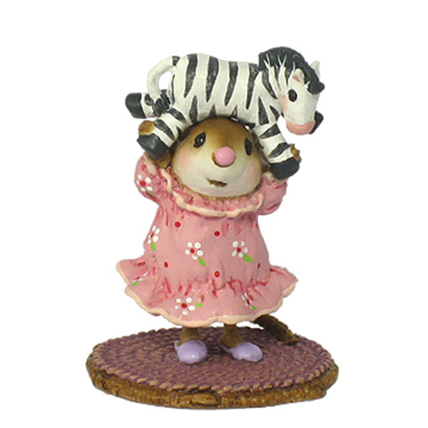 M-354 Striped Tiara – Wee Forest Folk Pajama Party Mice