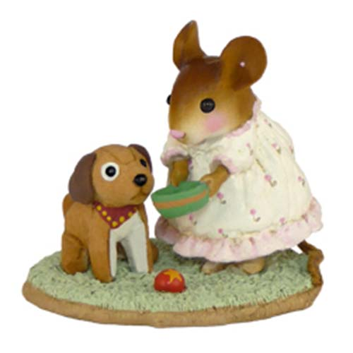 M-357 Doggie's Dish – Wee Forest Folk Pajama Party Mice