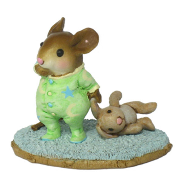 M-358 Bunny Lovie &#8211; RETIRED Wee Forest Folk Collectible