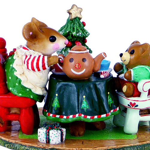 M-177c Christmas Tea for Three – LIMITED