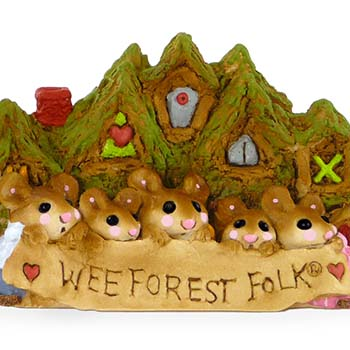 WFFDP Wee Forest Folk Display Plaque