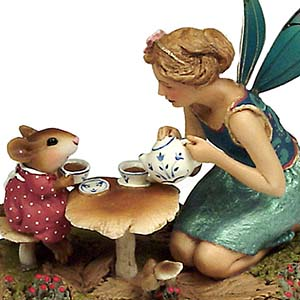 FY-1 Just a Wee Drop – Wee Forest Folk Collectible – Fairy