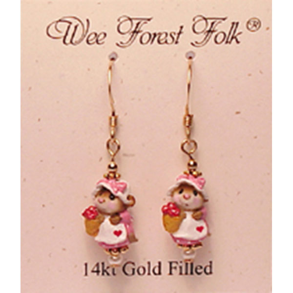 MME-G Earring (14K gold filled) &#8211; Wee Forest Folk Jewelry