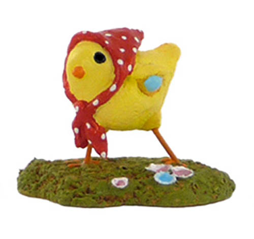 A-2 Little Chick with Kerchief (set of 3)