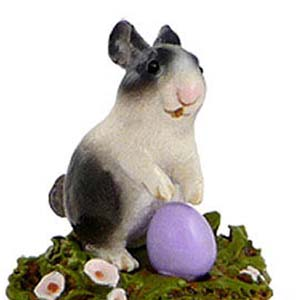 A-7 Standing Bunny – Easter Wee Forest Folk Collectible