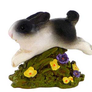 A-8 Jumping Bunny - Easter Wee Forest Folk Collectible