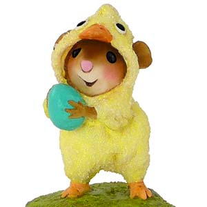M-457 Cute Chick – Easter Wee Forest Folk Collectible
