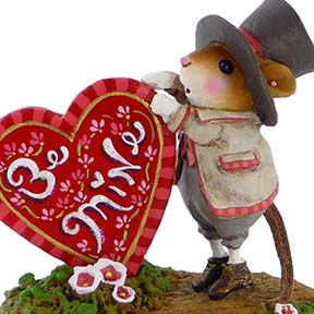 M-424a Will You Be Mine? - LIMITED Wee Forest Folk Collectible
