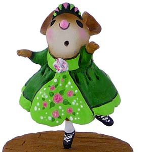 M-455a Step This Way - LIMITED Wee Forest Folk Collectible