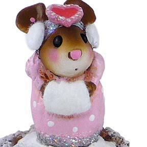 M-476 Little Missy Valentine - Wee Forest Folk Collectible