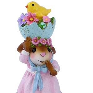 M-478 Silly Easter Bonnet &#8211; Wee Forest Folk Collectible
