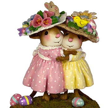 M-553a Mousey's Easter Bonnets – LIMITED