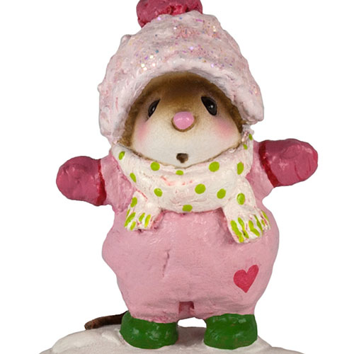 M-337a Snowbound Girl - LIMITED