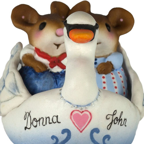 M-475 Swanboat Sweethearts - LIMITED
