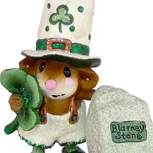 M-319 That&#8217;s Blarney! &#8211; RETIRED Wee Forest Folk Collectible