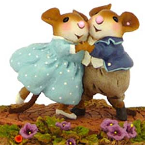 M-460 Garden Party - Wee Forest Folk Collectible