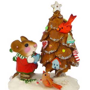 TM-6  The Littlest Pine Cone Tree &#8211; Wee Forest Folk Christmas