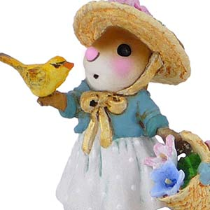 M-321c Sweet Songbird - Wee Forest Folk Collectible