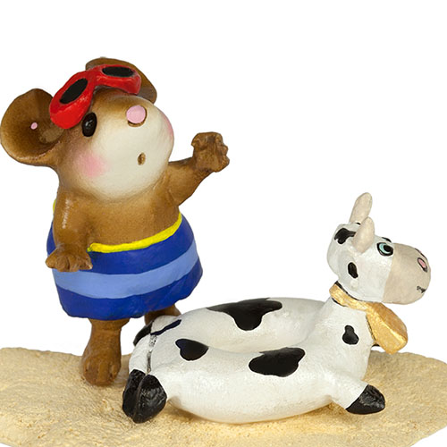 M-349d Tiny Tubie - Cow - LIMITED