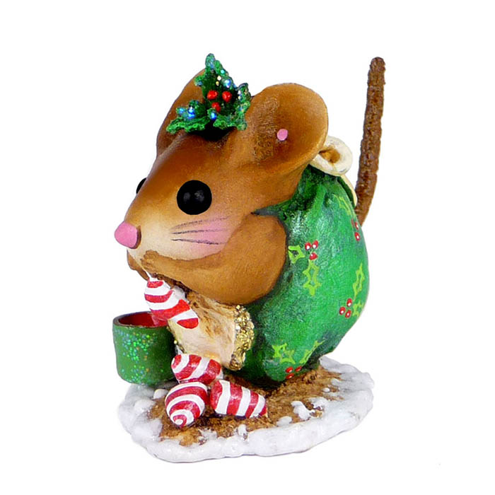NM-1a Christmas Nibble Mouse