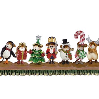 Wee Christmas Play - COMPLETE SET (M-543, M-544, M-545, M-546, M-547, M-548, M-549, A-31, A-32)