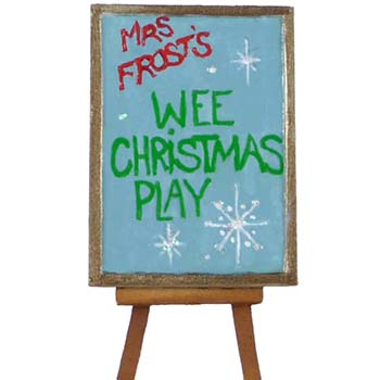 A32 Wee Christmas Play Easel