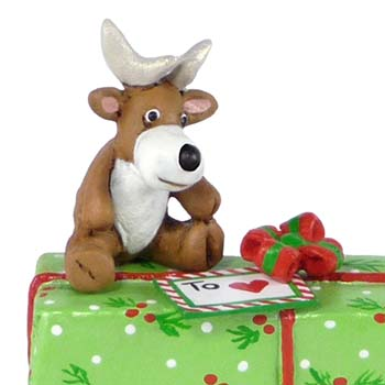 A-35 Gift with Reindeer - LIMITED